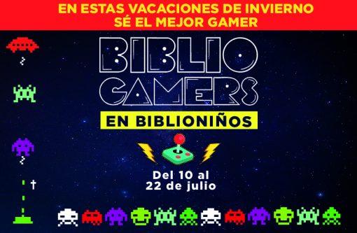 """Vacaciones de invierno: """"BiblioGamers en Biblioniños"""""""