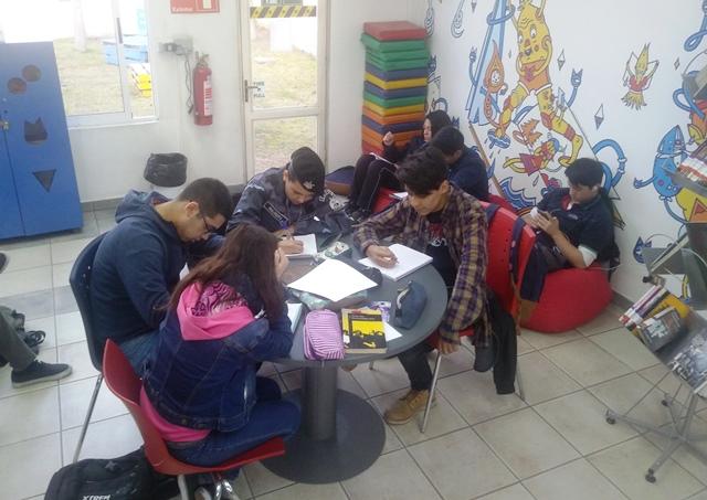 Cierre del taller de escritura creativa para jóvenes
