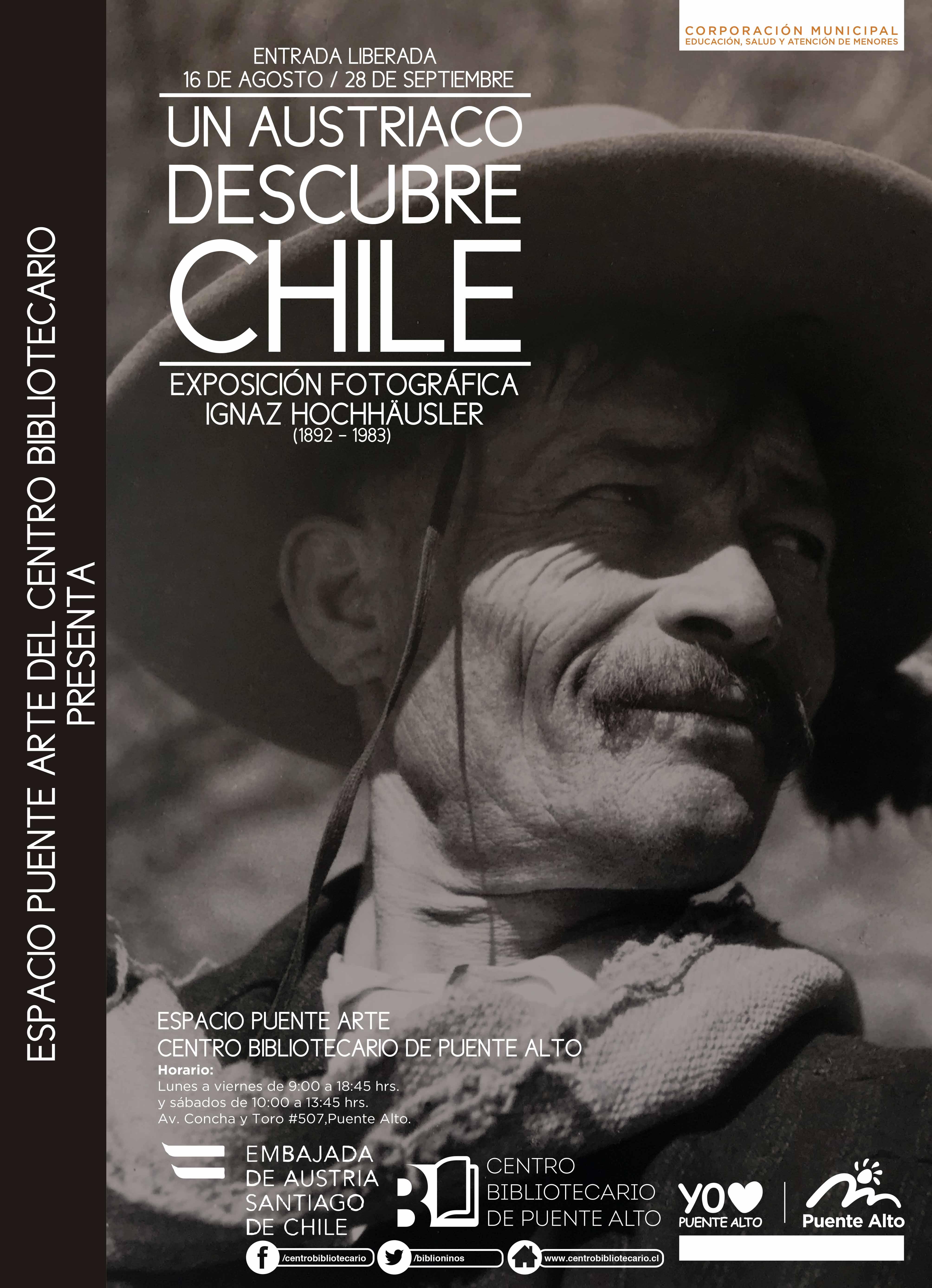 Inauguración Exposición Un Austriaco Descubre Chile