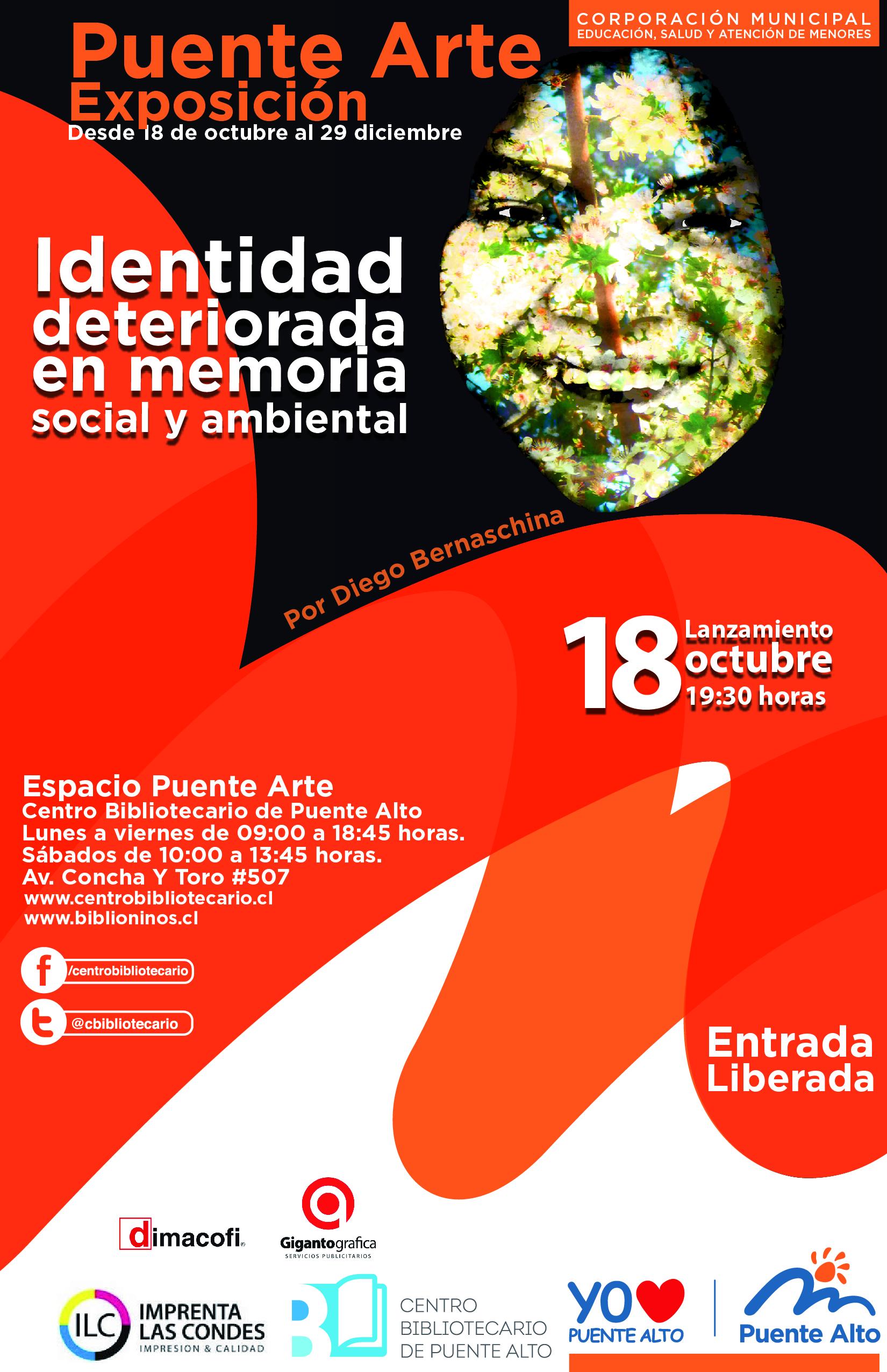 Exposición: Identidad deteriorada en memoria social y ambiental Por Diego Bernaschina