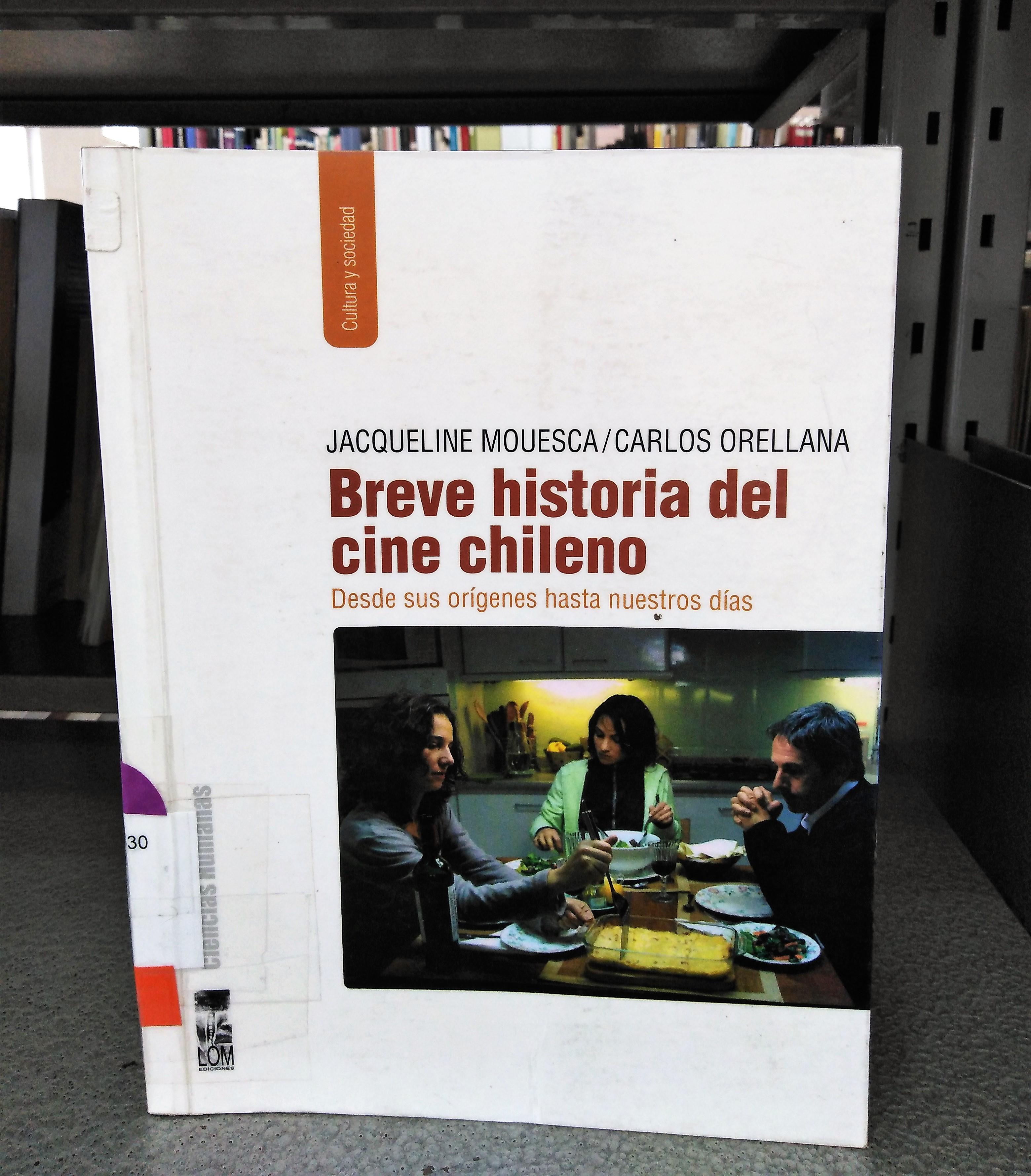 """""""Breve historia del cine chileno"""" [Reseña]"""