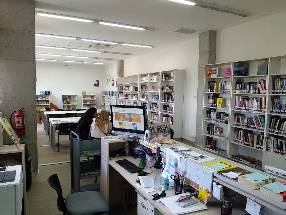 Horario de atención Biblioteca de las Artes