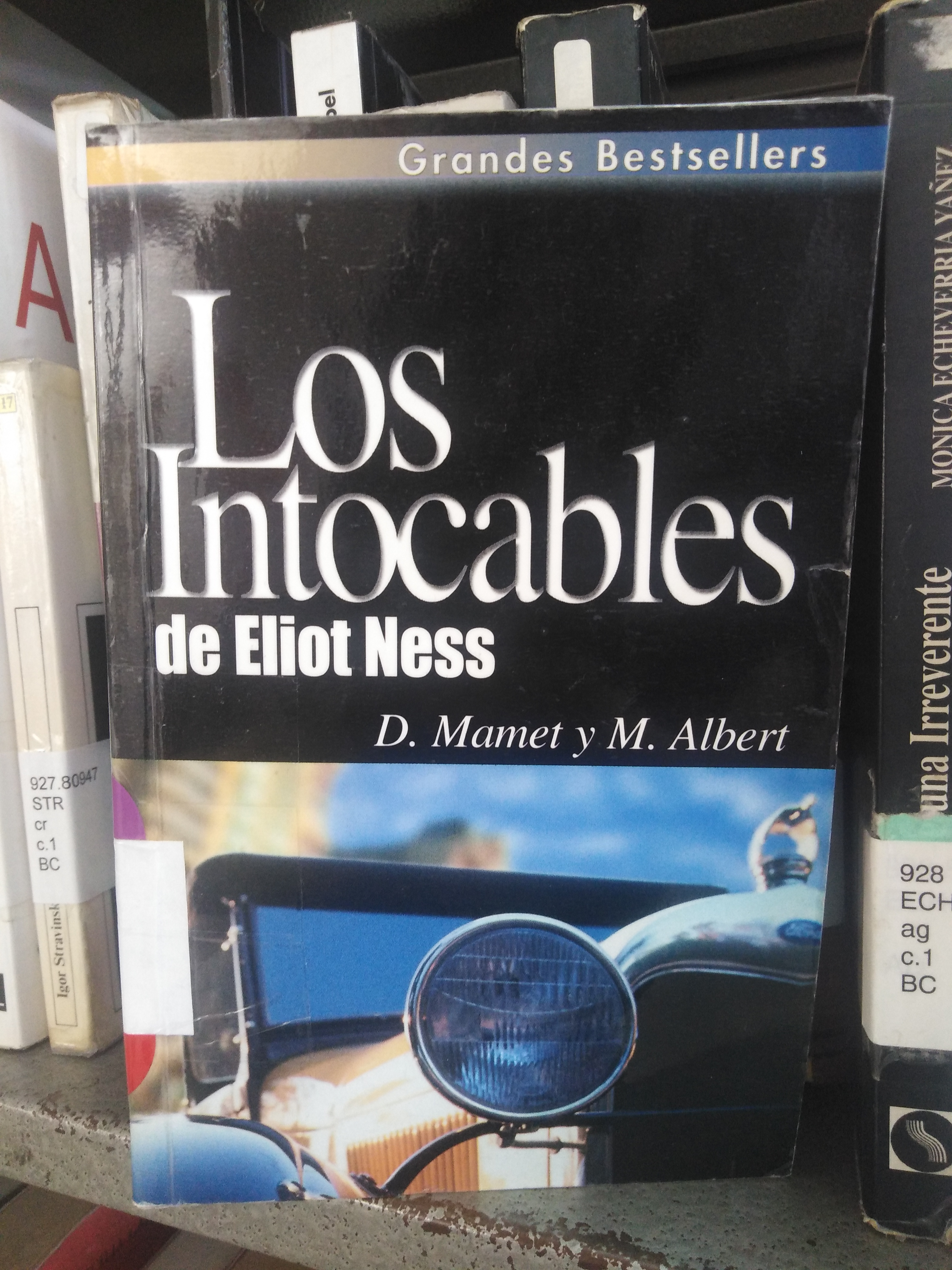 """""""Los intocables de Eliot Ness"""" [Reseña]"""