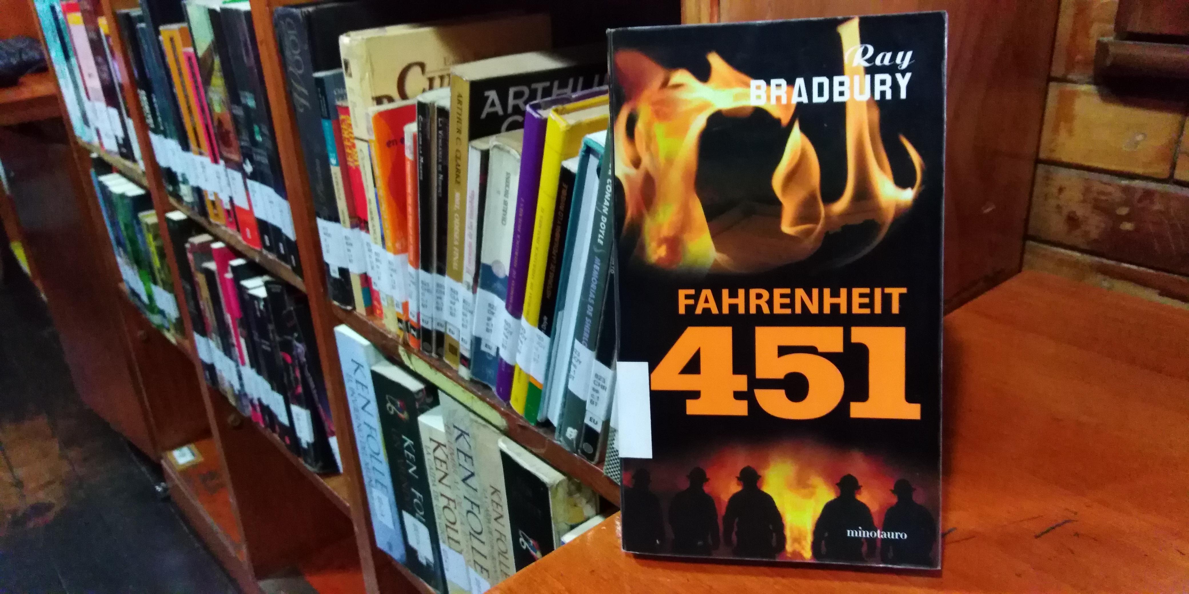 Bibliotren: Fahrenheit 451 [Reseña]