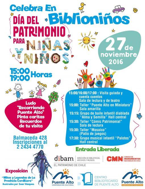 Día del Patrimonio para niños y niñas