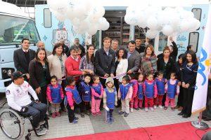 2016 - 4 Inauguración bibliobuses