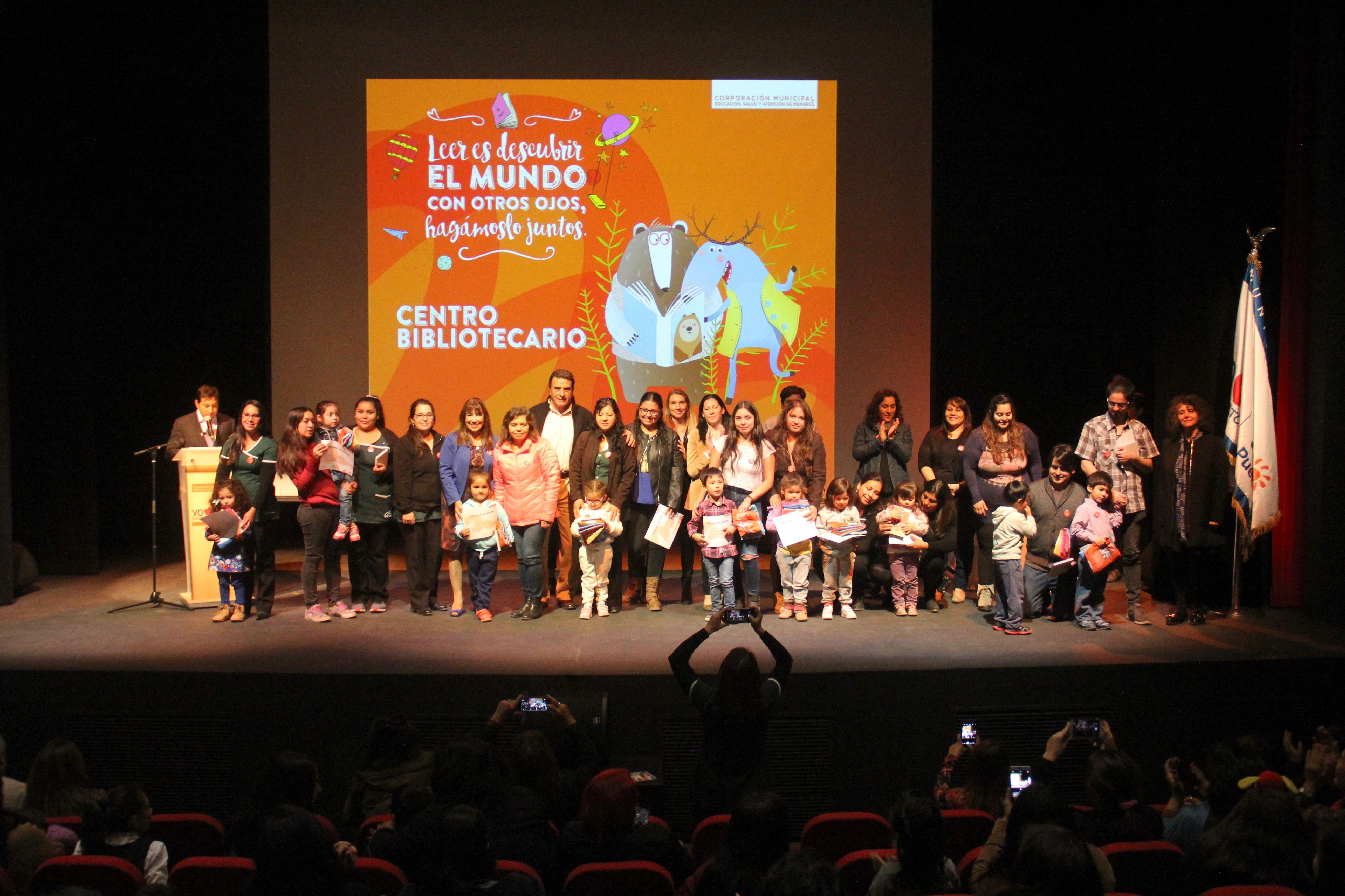 Ceremonia de los mejores Lectores de Puente Alto