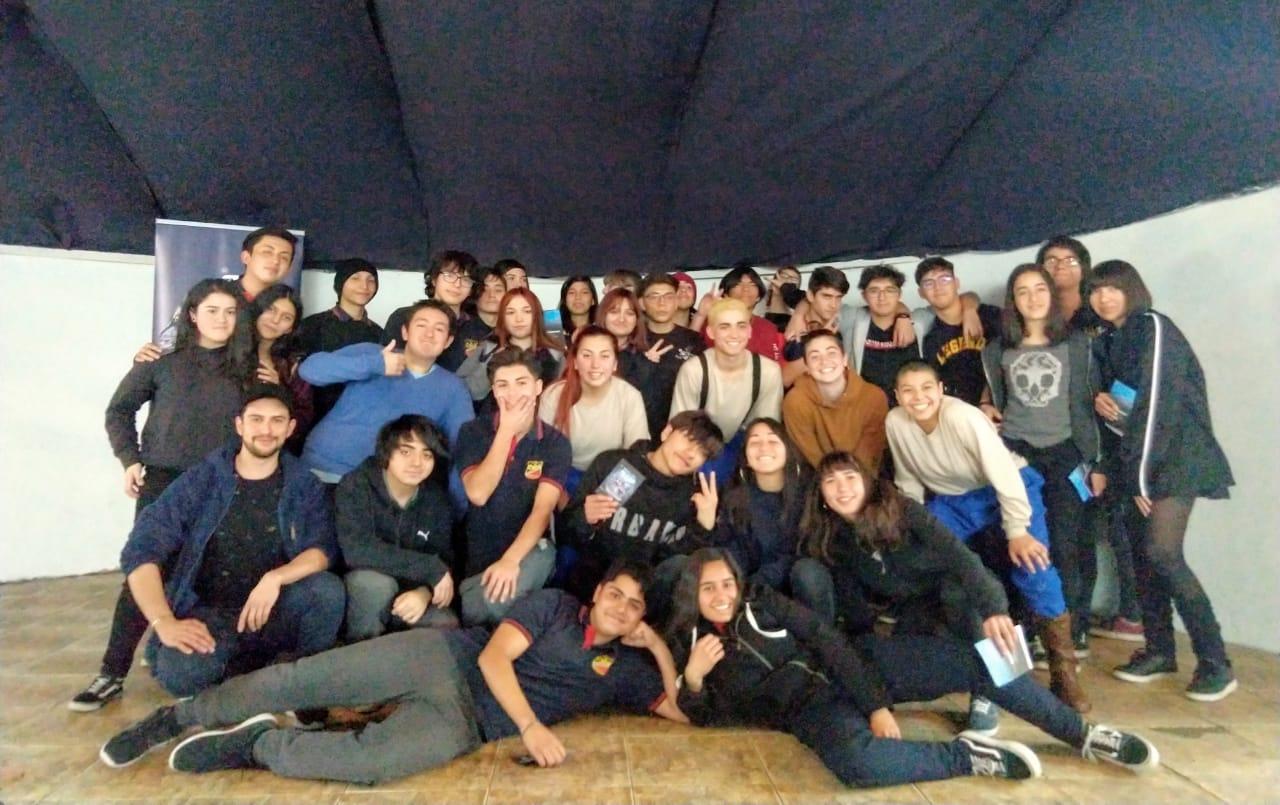 """Lincoln Filmmaker"" Estreno de teatro en Liceo Juan Mackenna"