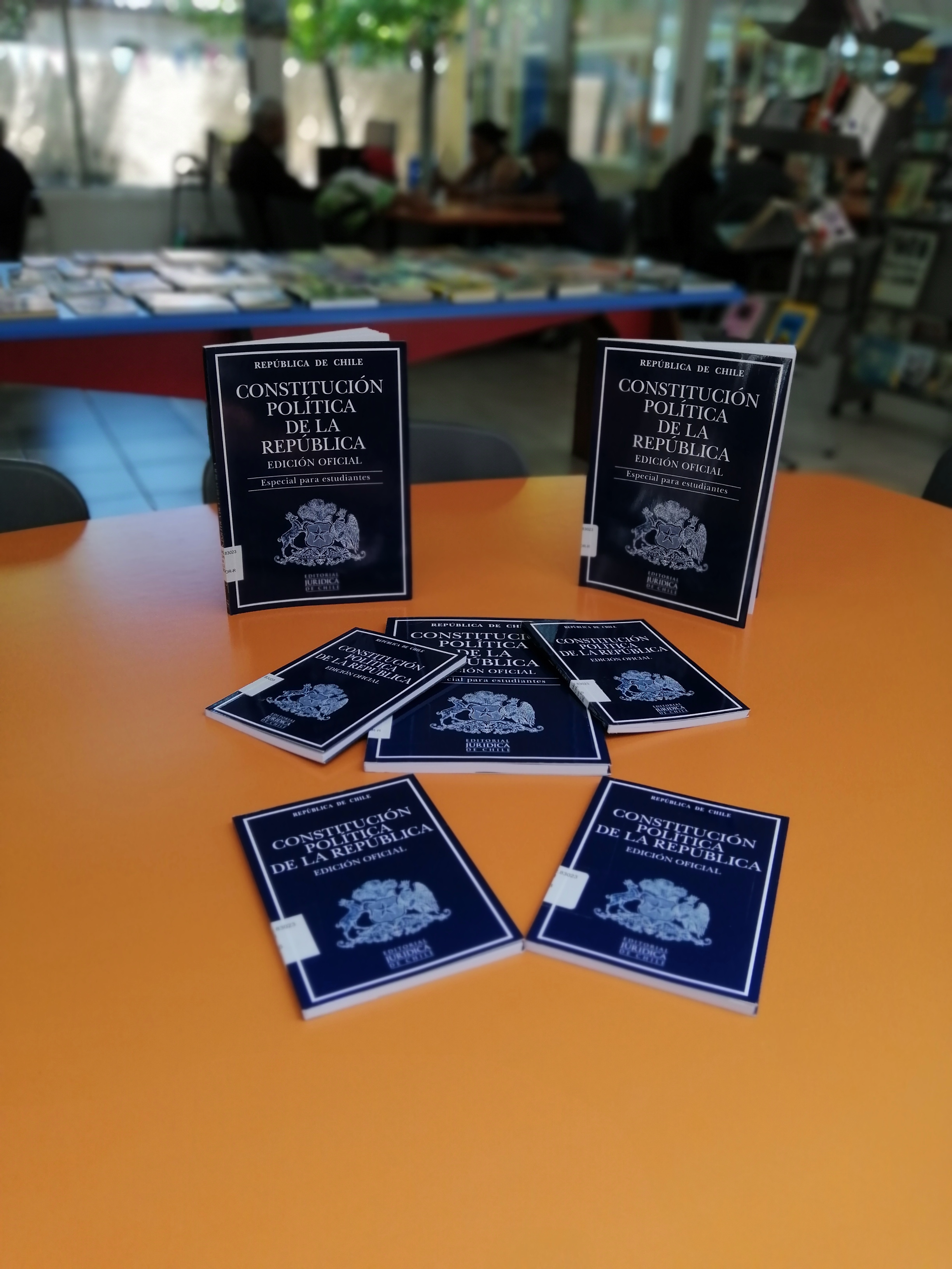 Nuevas Constituciones en el Centro Bibliotecario