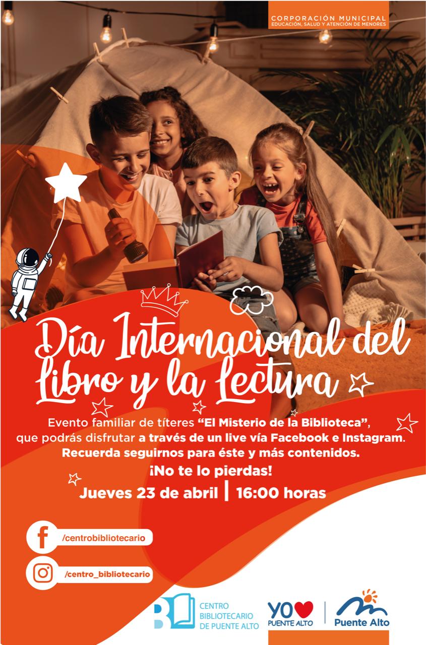 Teatro de títeres en Biblioniños Live - Día del Libro 2020