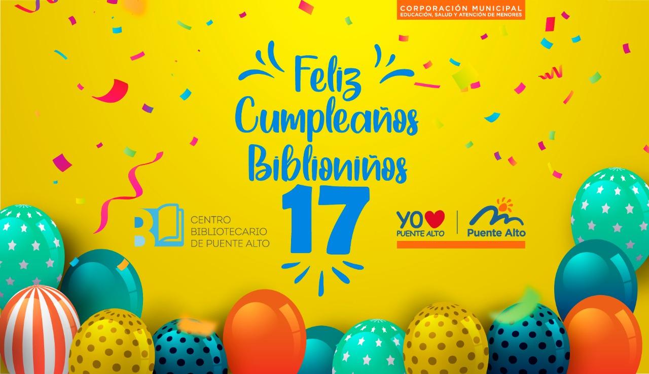 Cumpleaños n°17 de Biblioniños [Evento]