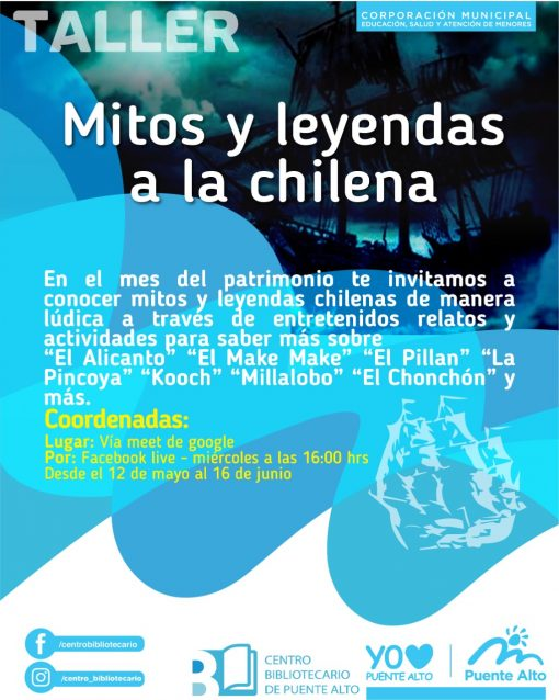 Mitos y leyendas a la chilena [Taller]