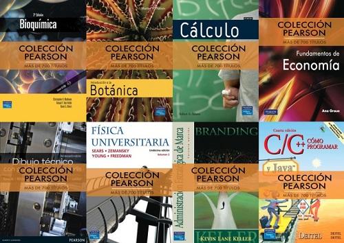 Colección libros técnicos Pearson [Reseña]