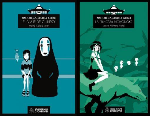 Biblioteca Studio Ghibli: El viaje de Chihiro y La princesa Mononoke. [Reseña]